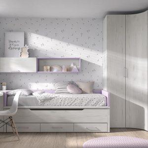 Dormitorio Mood Kids 10 de Ros Muebles Toscana