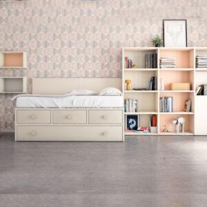 Dormitorio juvenil VITA_08 JJP Muebles Toscana