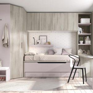 Dormitorio Mood Kids 7 de Ros Muebles Toscana