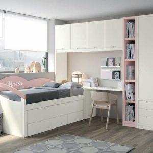 Dormitorio Compacto Lágrima de Siboney Muebles Toscana
