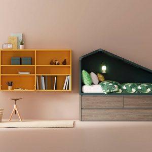 Dormitorio Compacto Cabaña de Lagrama Muebles Toscana