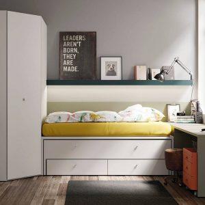Dormitorio Compacto Reversible de Lagrama Muebles Toscana