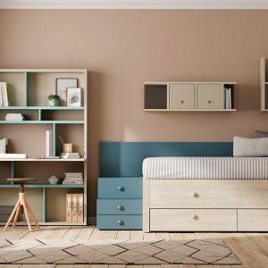 Dormitorio Compacto Kubox de Lagrama Muebles Toscana