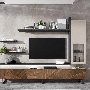 Salón moderno Cubimobax 02 Muebles Toscana