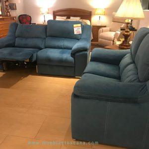 Conjunto de sofás de tres y dos plazas Texas