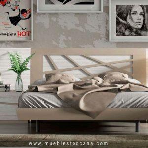 Dormitorio de matrimonio de estilo moderno