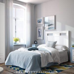 Dormitorio juvenil moderno low cost