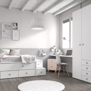 Dormitorio Mood Kids 8 de Ros Muebles Toscana