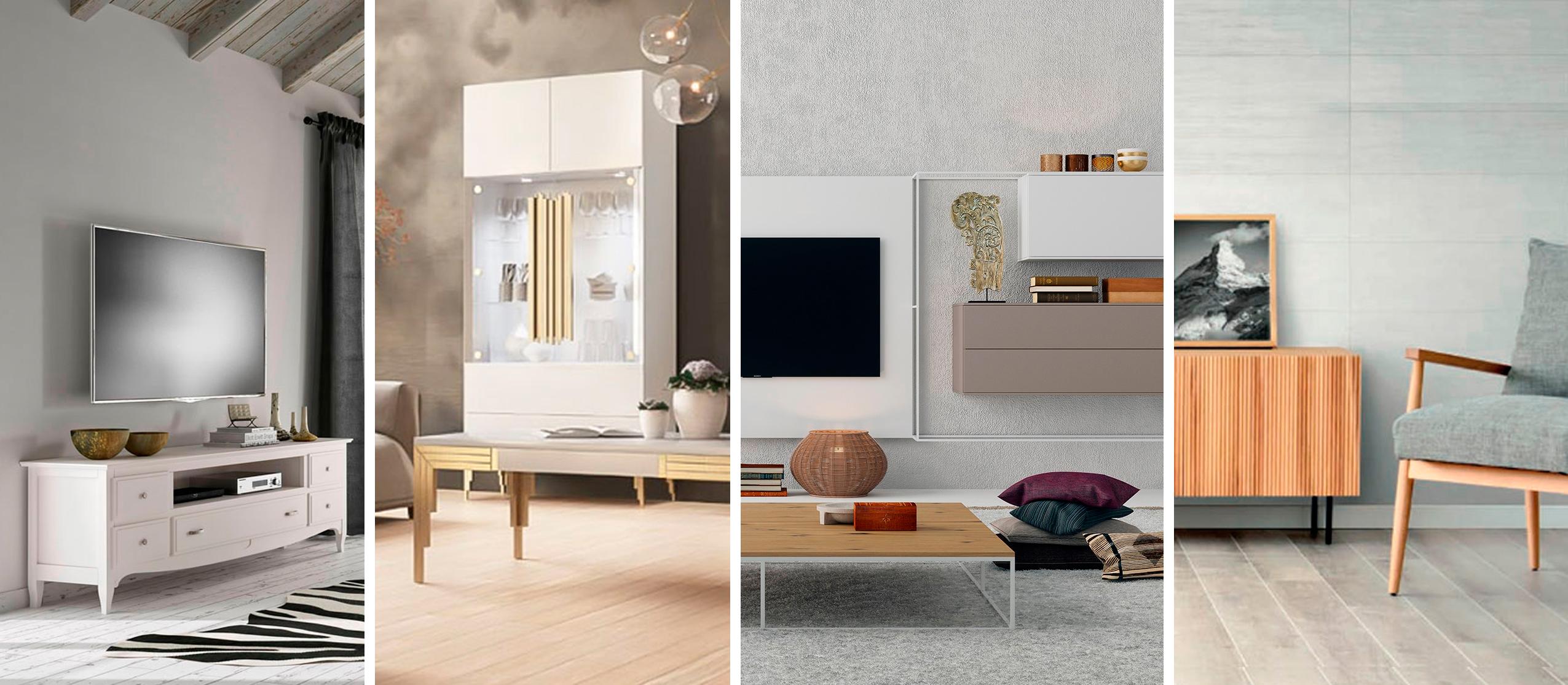 estilos de salon Muebles Toscana