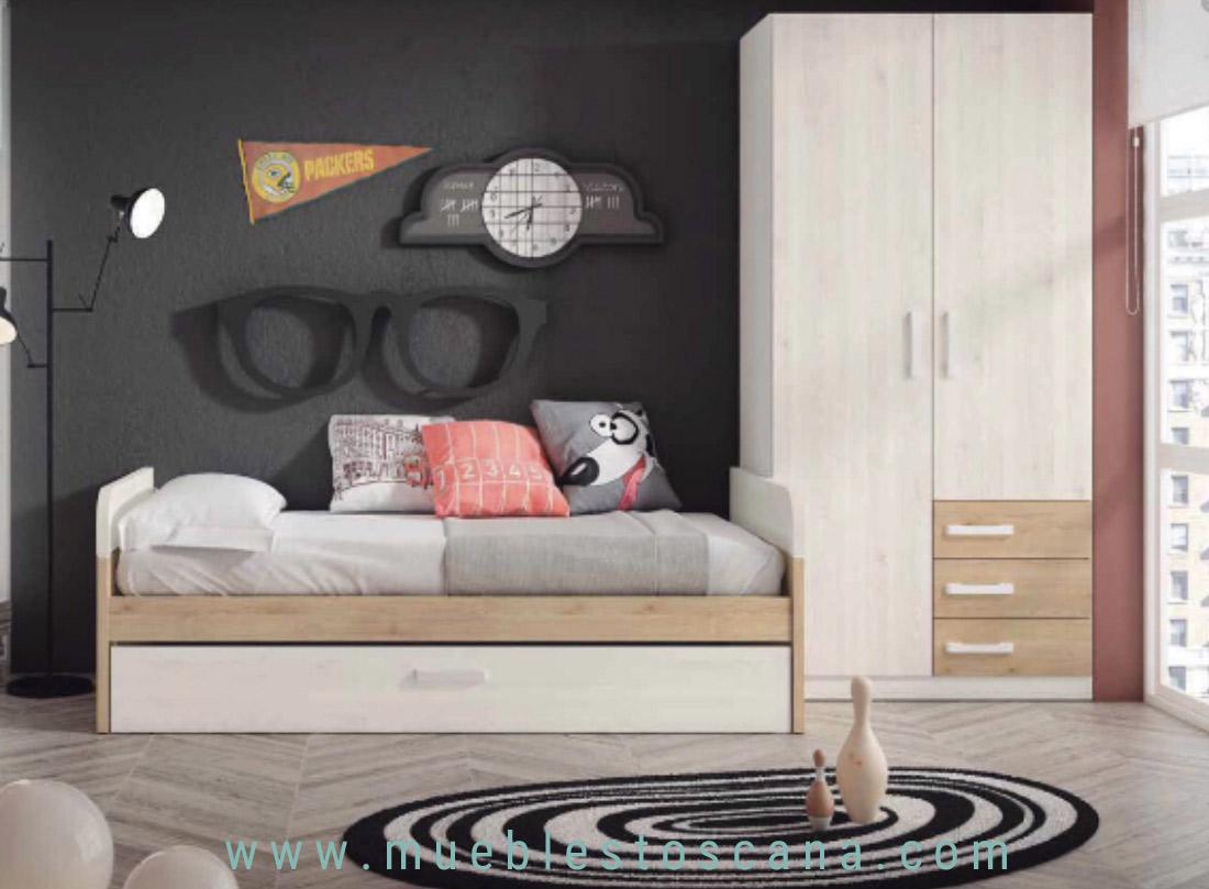 juvenil cama nido