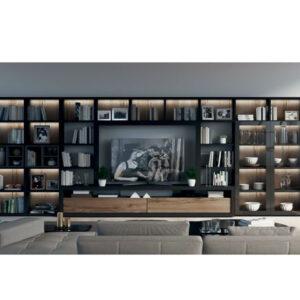 librería Qubic 25 Muebles Toscana