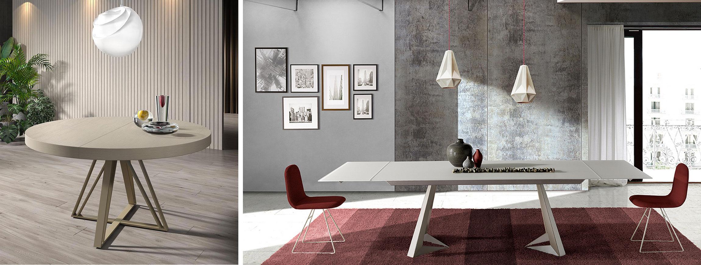 Mesas extensibles Muebles Toscana