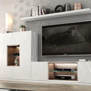 Salón MX 21 de Franco Furniture Muebles Toscana
