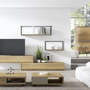 Salón Moderno Torga NT02 Muebles Toscana