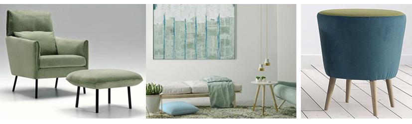 Decoracion en verde de Muebles Toscana